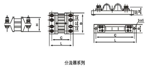 直流电流分流器